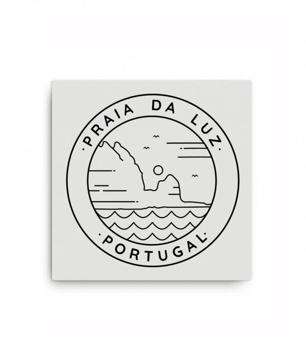 Praia da Luz White Monoline Design